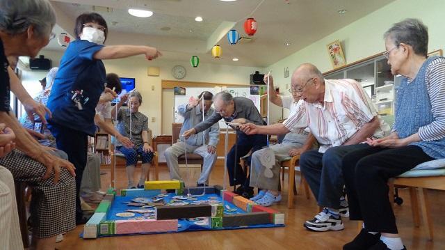 介護付き有料老人ホーム ウェルケア伊豆高原「納涼祭」