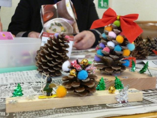 伊東・ウェルケア伊豆高原のクリスマス準備